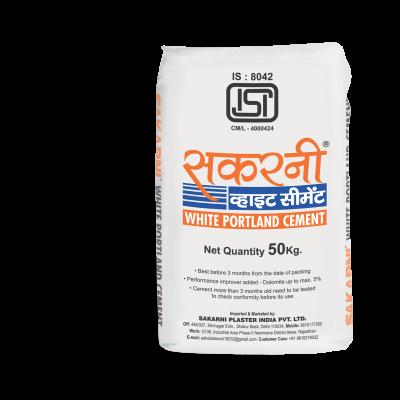Sakarni White Cement packaging